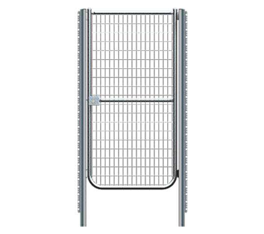 Puertas para cercados simple torsi n 1 hoja duracero for Puertas para cercados